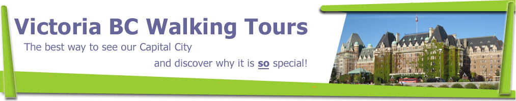 Victoria BC Walking Tours